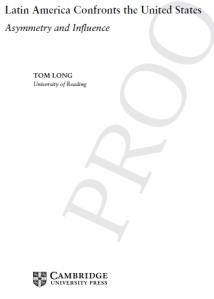LatAm Confronts-title page