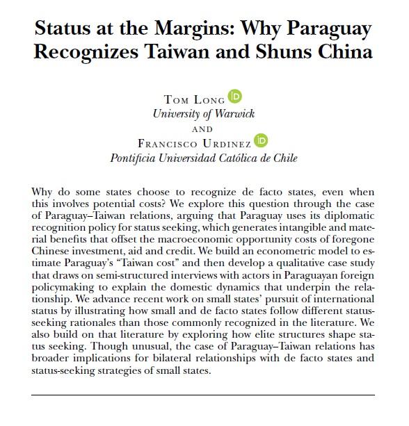 Long-Urdinez-Paraguay-Taiwan